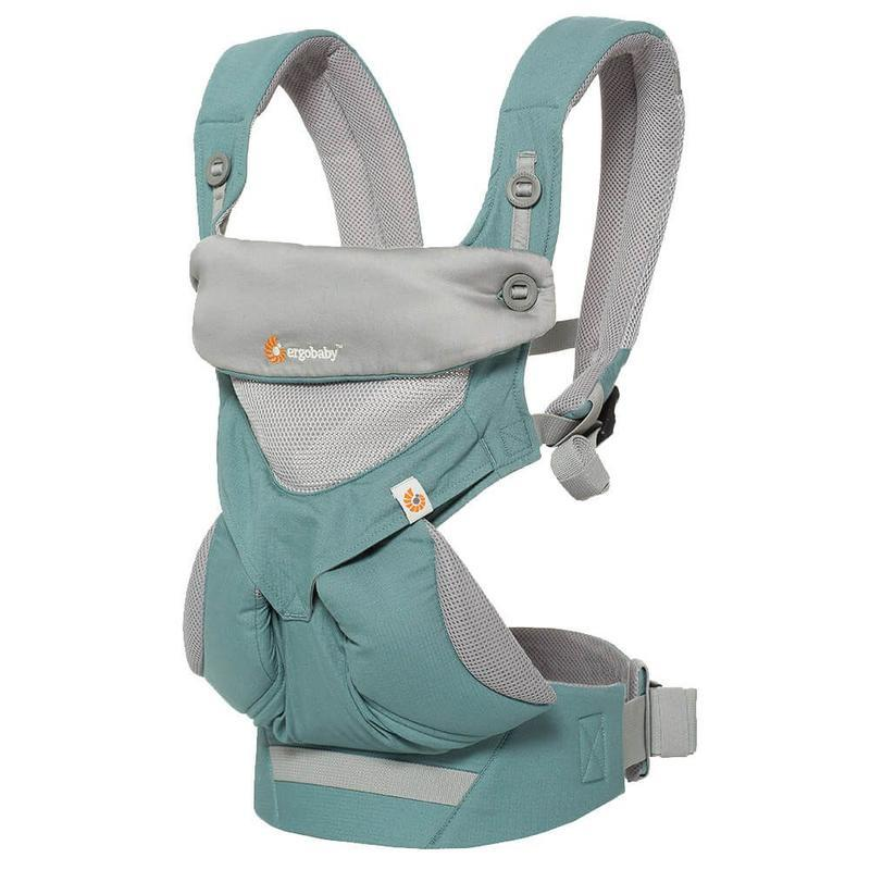 ERGOBABY 360 NOSÍTKO COOL AIR - ICY MINT