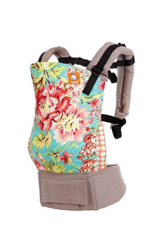 TULA TODDLER Nosítko - BLISS BOUQUET