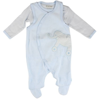 FIXONI INFINITY Set Body+Overal - New Baby Blue
