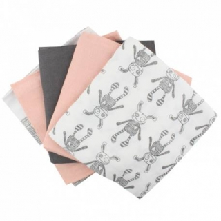 Small Rags Daze 5-Pc Pack Pleny Pink Sand