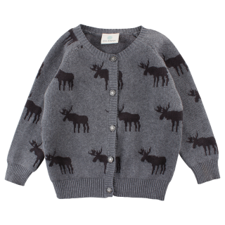 EnFant Horizon Svetr Dark Grey Melange