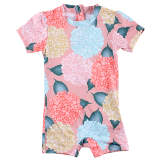 SMALL RAGS IBI Overal Coral Cloud - SPF 50