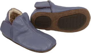 EnFant Adventure Slipper Purple kožené capáčky