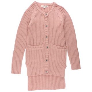 SMALL RAGS Emily Cardigan Misty Rose
