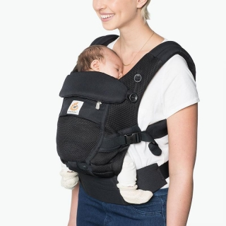 ERGOBABY ADAPT COOL AIR MESH - Onyx Black