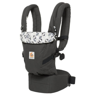 ERGOBABY Adapt Nosítko Original - Graphic Grey