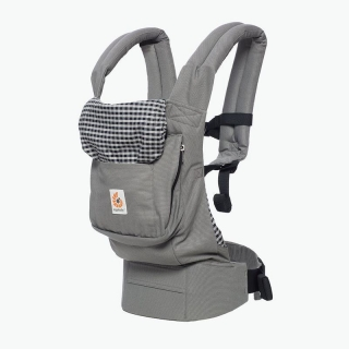ERGOBABY ORIGINAL NOSÍTKO - STEEL PLAID